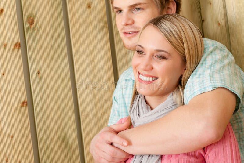 Couple In Love - Happy  Enjoy Summer Stock Photos