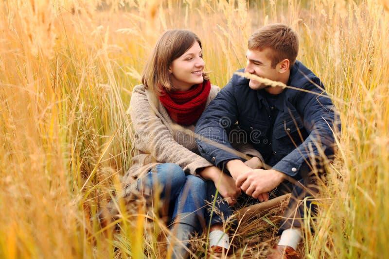 Couple in love. stock photos
