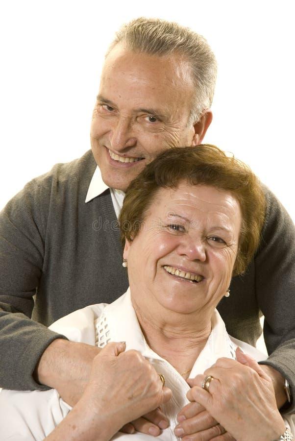 couple lovely senior στοκ εικόνες