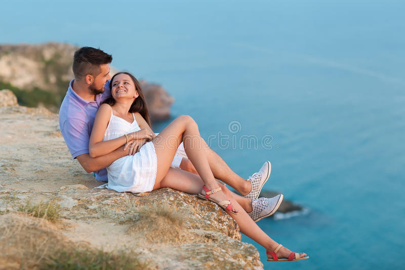 Couple lovers royalty free stock photography