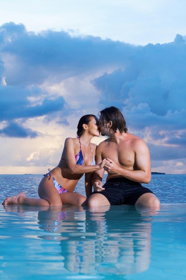 Download Couple at Maldives stock photo. Image of bikini, bahamas - 14532308