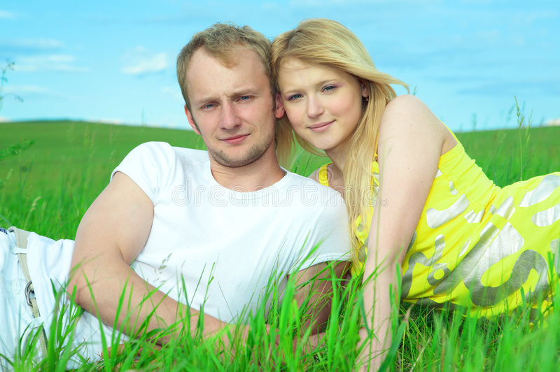 Couple Man And Woman Royalty Free Stock Images