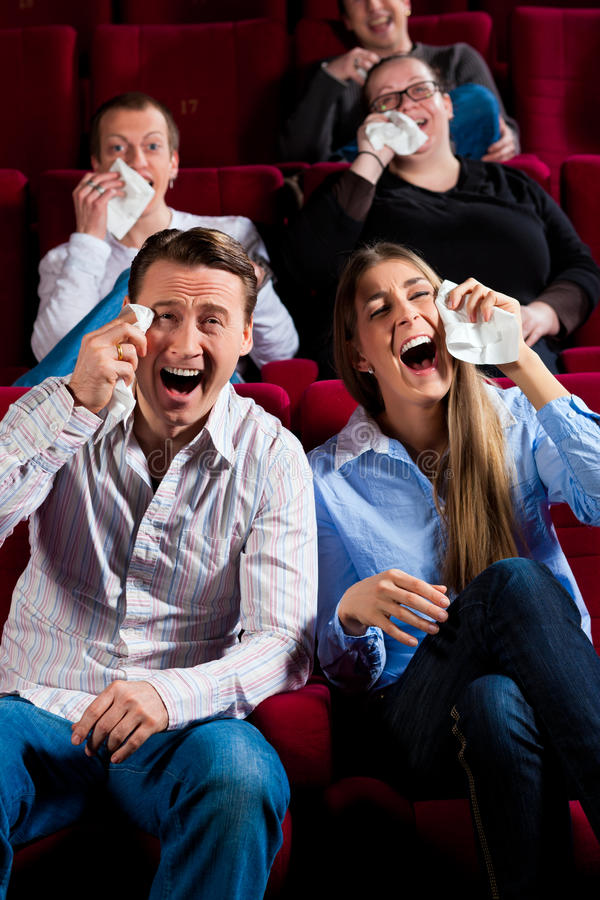 Download Couple And Other People In Cinema Stock Photo - Image: 23222026