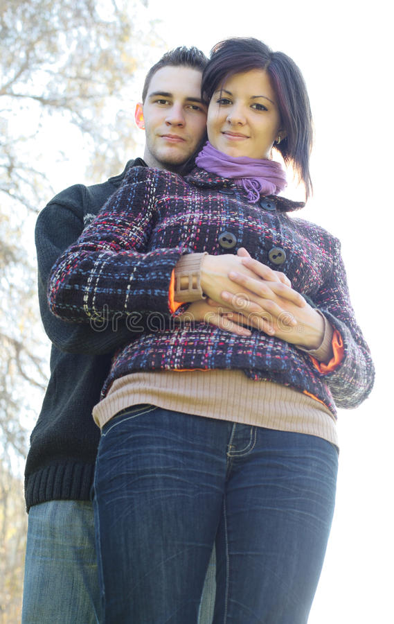 Download Couple Outdoor In Autumn Stock Photos - Image: 16857513