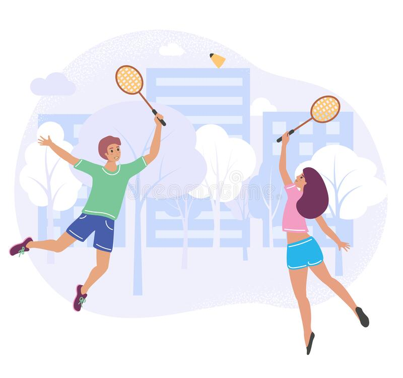 Young Boy. Boy Playing Tennis. Kids Tennis. Vector Illustration On White  Background. Stock Vector - Illustration of cartoon, play: 69254310