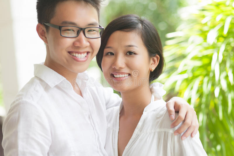 Download Couple portrait stock photo. Image of loving, attractive - 26420492