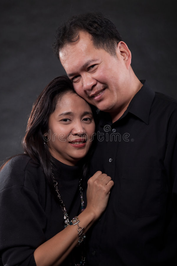 Couple portrait royalty free stock photography
