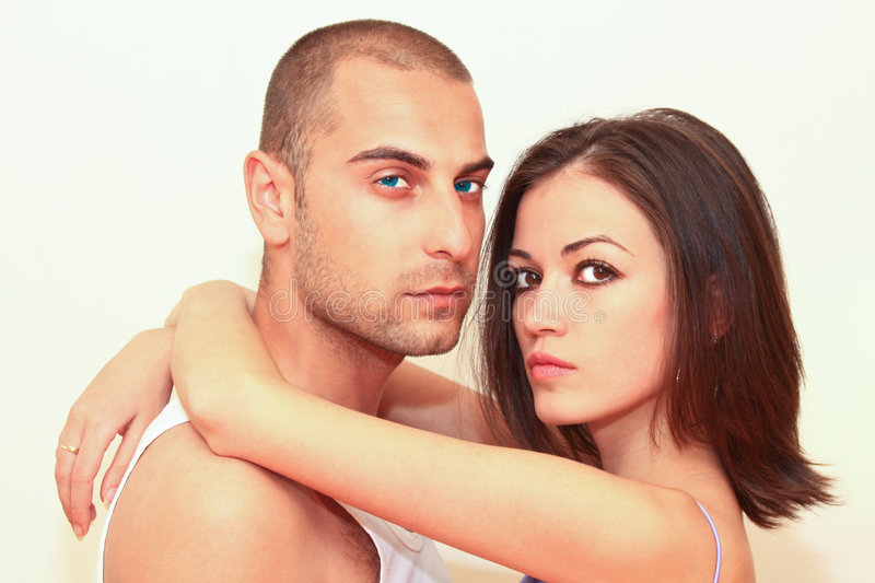 Download Couple portrait stock image. Image of love, young, female - 9173591