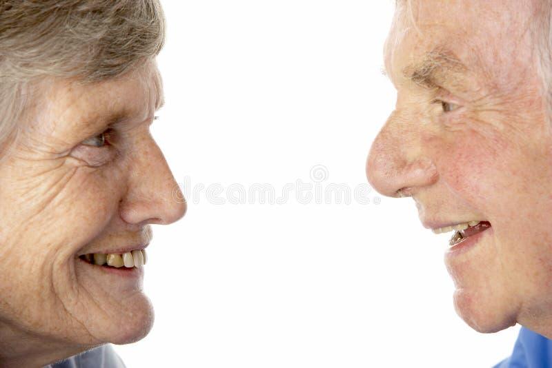 couple portrait senior στοκ εικόνες