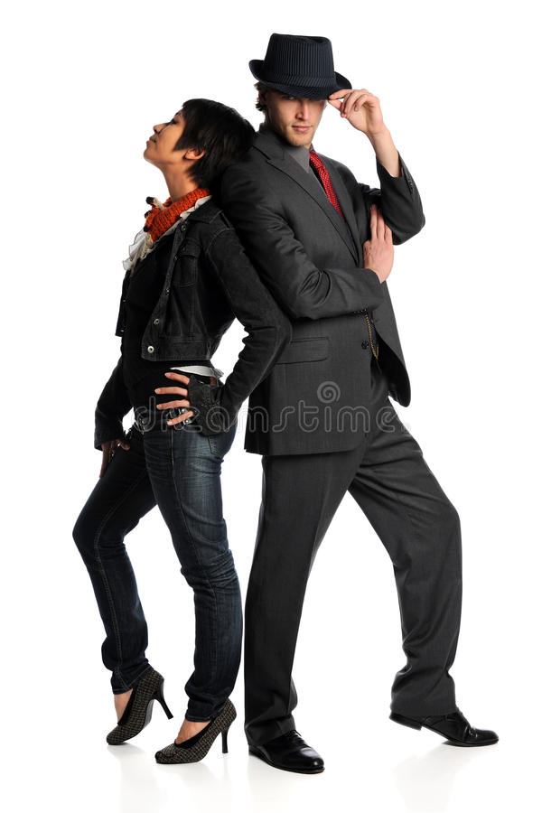 Download Couple Posing stock photo. Image of male, event, performer - 22382422