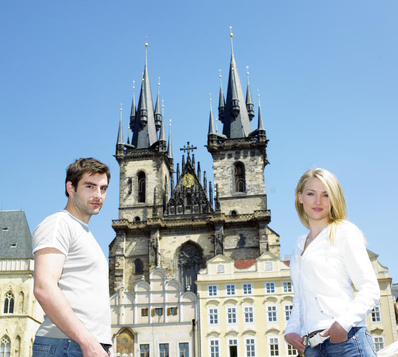 Download Couple In Prague Royalty Free Stock Photos - Image: 18782928