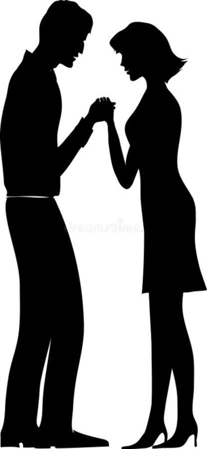 Download Couple pray stock illustration. Image of problem, religion - 542208
