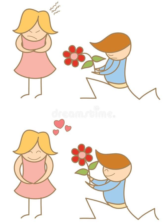 couple proposing