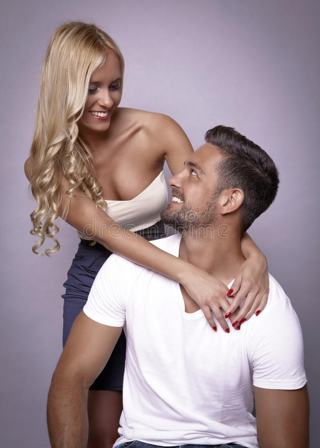 Couple relations stock images