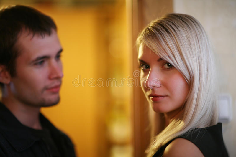 Couple relationship royalty free stock photography