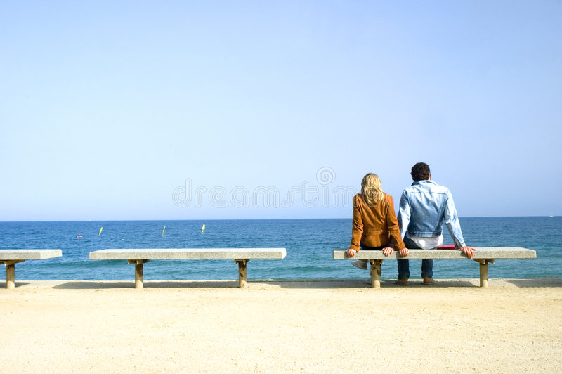 Couple relaxing stock photos