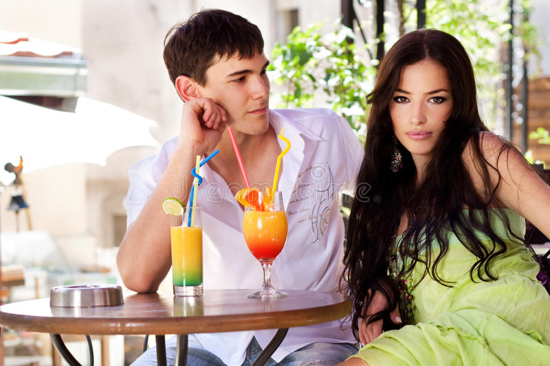Download Couple in restaurant stock photo. Image of date, close - 9831606