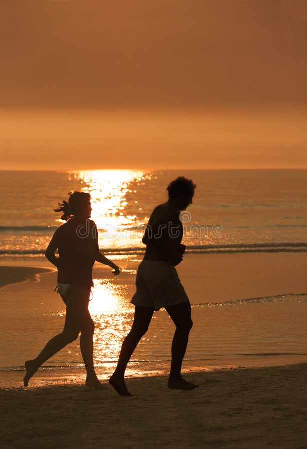 Download Couple Running Stock Photo - Image: 2315560