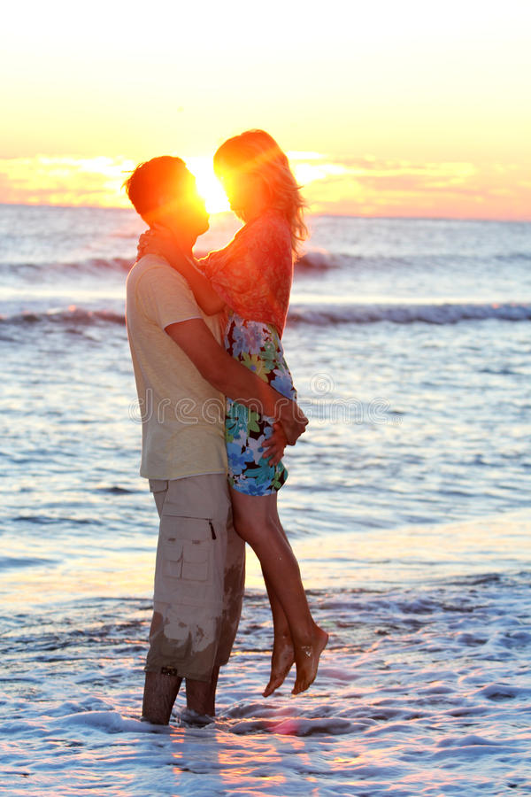 Download Couple On The  Sea Stock Image - Image: 28690721