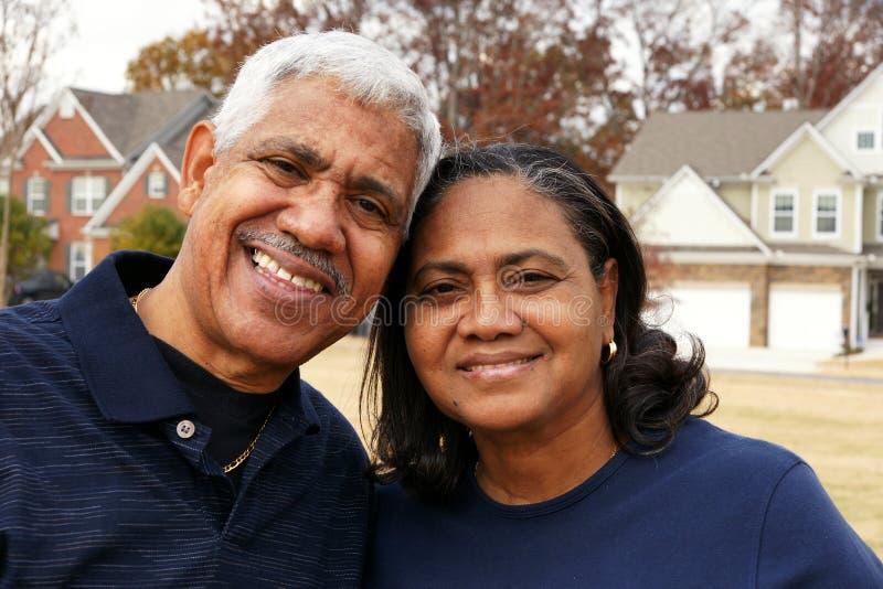 couple senior στοκ εικόνα με δικαίωμα ελεύθερης χρήσης