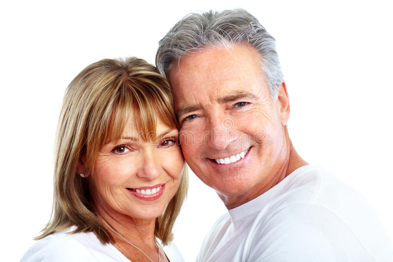 Couple. stock image
