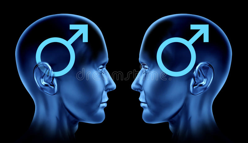 Download Couple Sexual Issues Gay Homosexual Men Male Symbo Stock Illustration - Illustration: 17684571