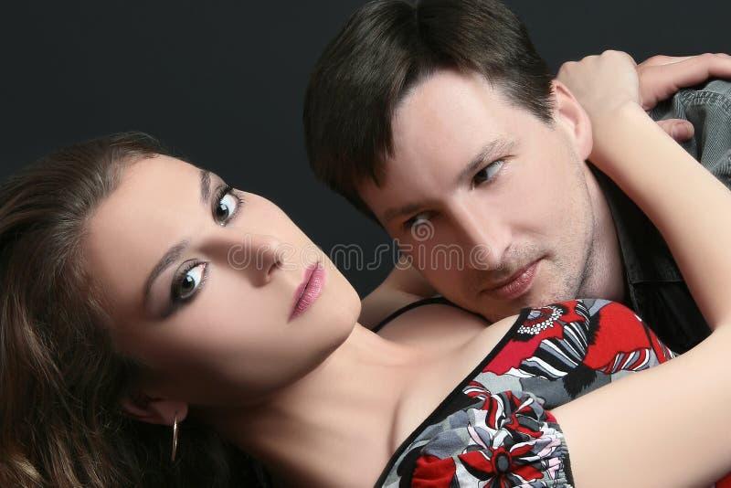 Couple sexuality royalty free stock photos
