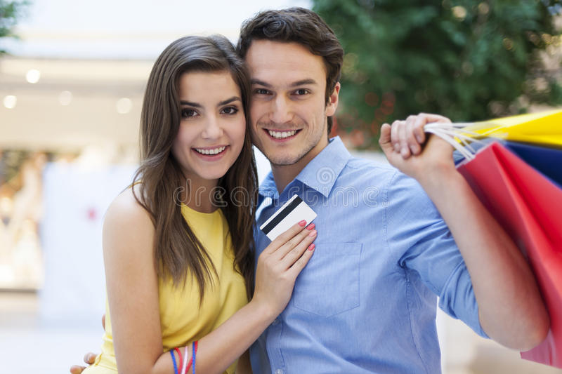 Download Couple during shopping stock photo. Image of camera, store - 37800172