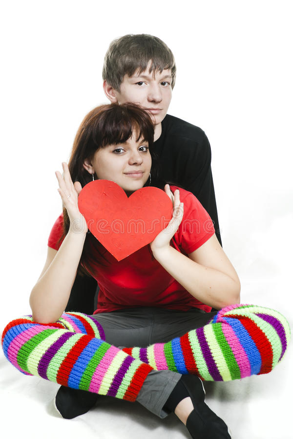 Couple Showing Us Their Love Royalty Free Stock Photo