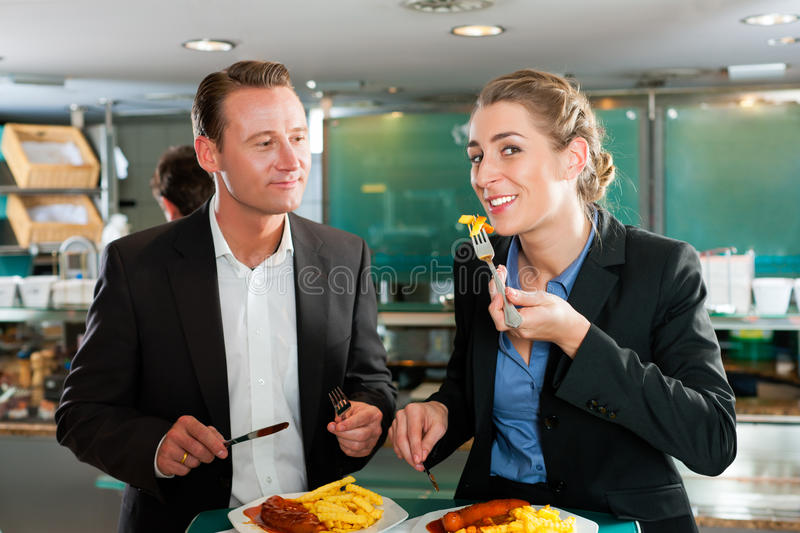 Download Couple With Snack For Lunch Stock Image - Image: 20282905