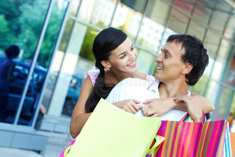 Download Couple spending money stock image. Image of fashionable - 22852531