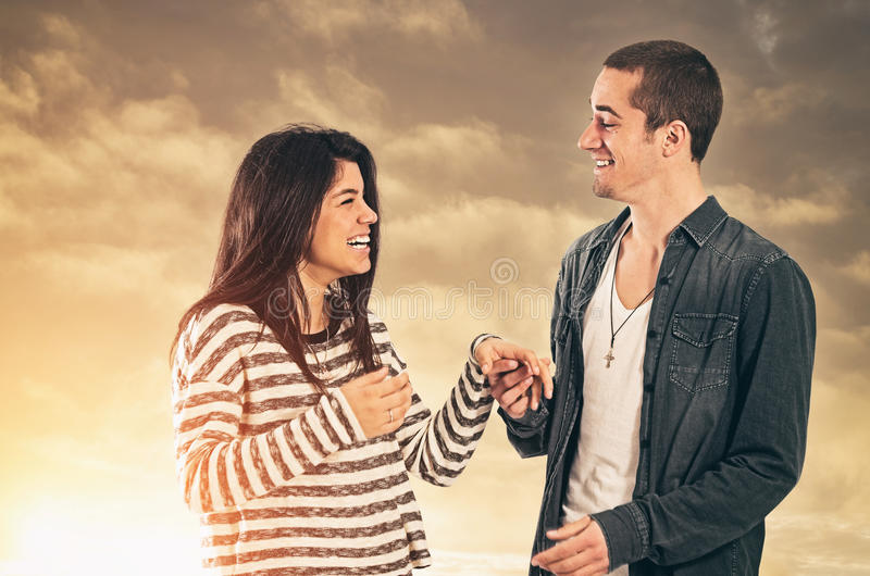 Couple of Sweethearts royalty free stock images
