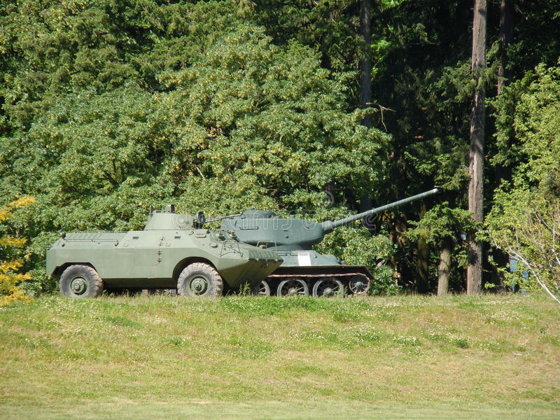 Couple of Tanks royalty free stock photography