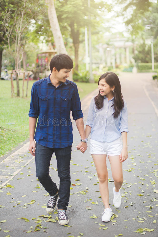 Couple teen royalty free stock image