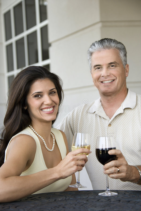 Download Couple Toasting Wine. Royalty Free Stock Image - Image: 2044776