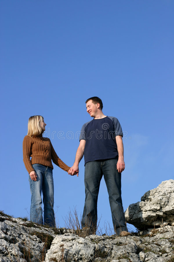 Couple - Together stock photography