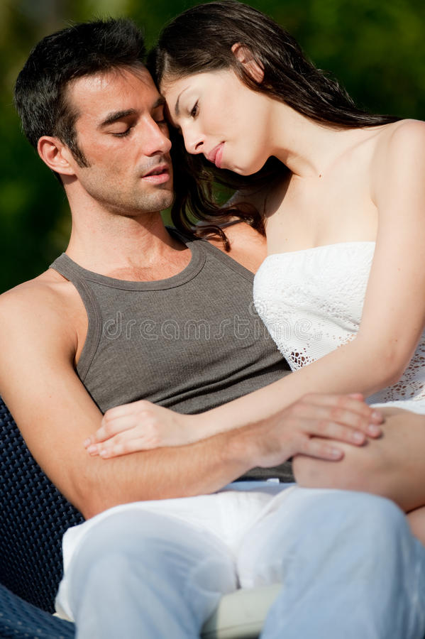 Couple Together royalty free stock photos