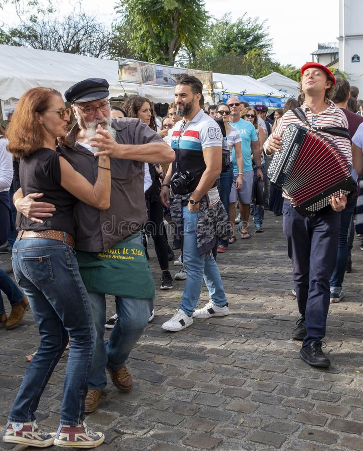 And we`re dancing in the streets... stock photos