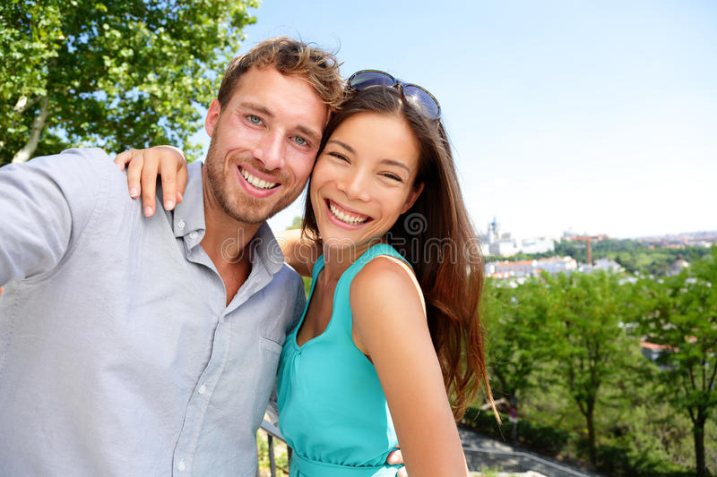 Asian Caucasian Couples