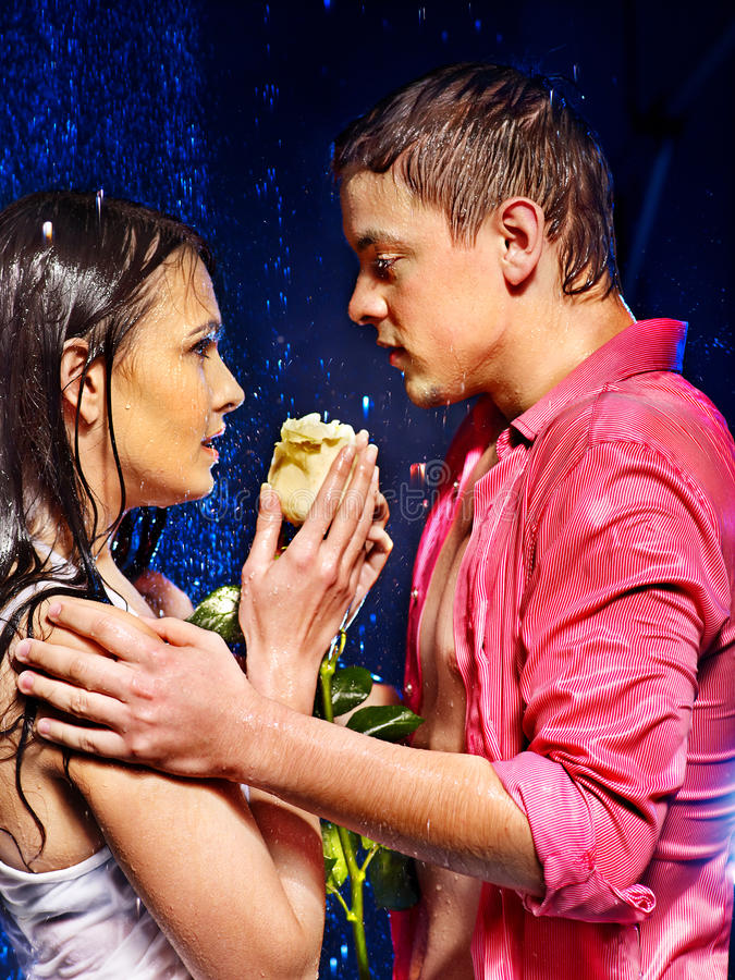 Download Couple  under  water drop. stock image. Image of valentine - 28880449