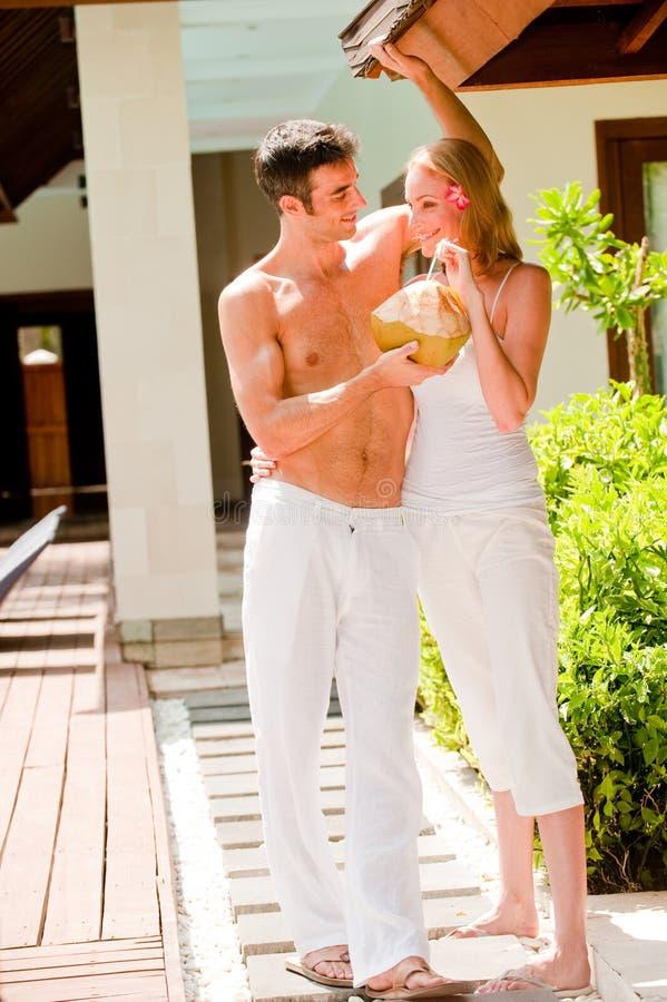 Couple On Vacation stock photo