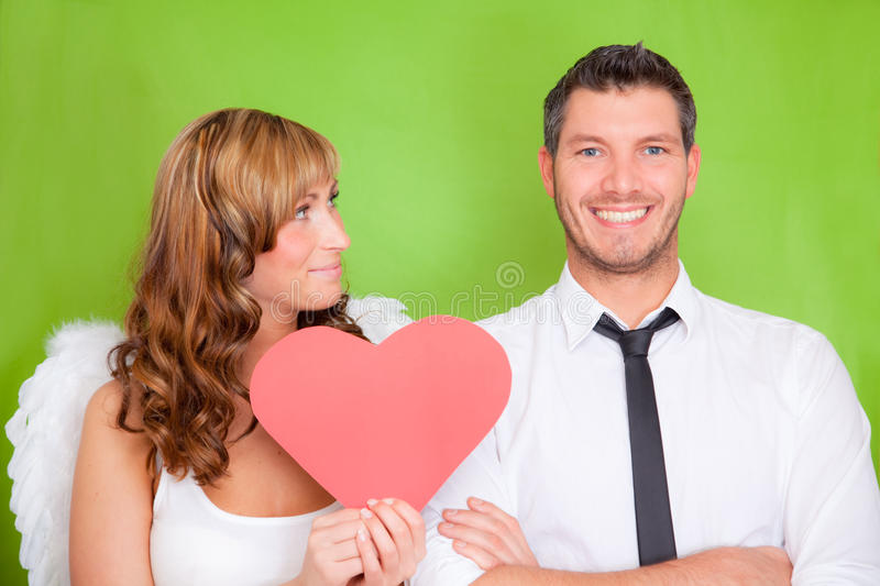 Download Couple valentine love stock photo. Image of lovers, flirting - 12754782