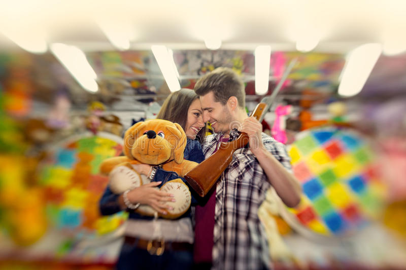 Download Couple In Visiting An Attractions Park  - Shoot With Lensbaby Stock Photo - Image: 41407370