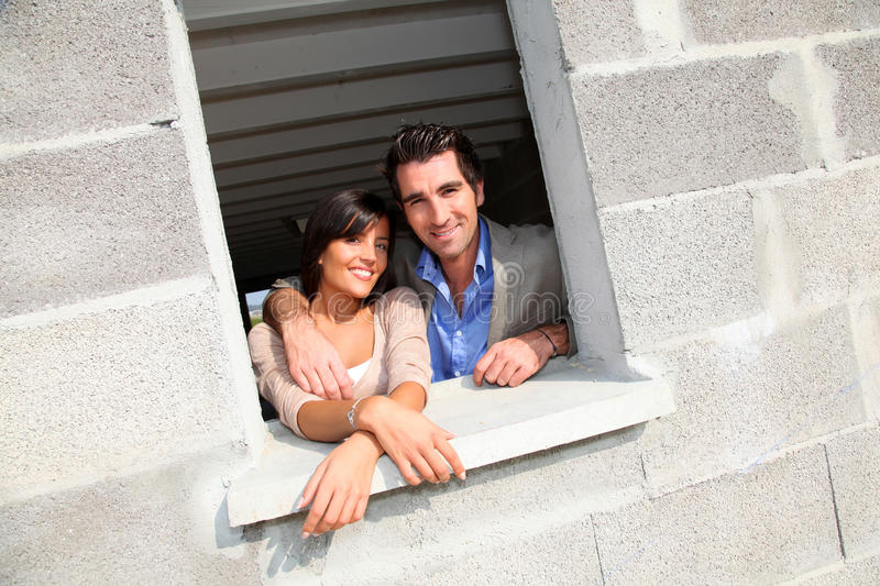 Download Couple Visiting Future Home Stock Photo - Image: 21682270