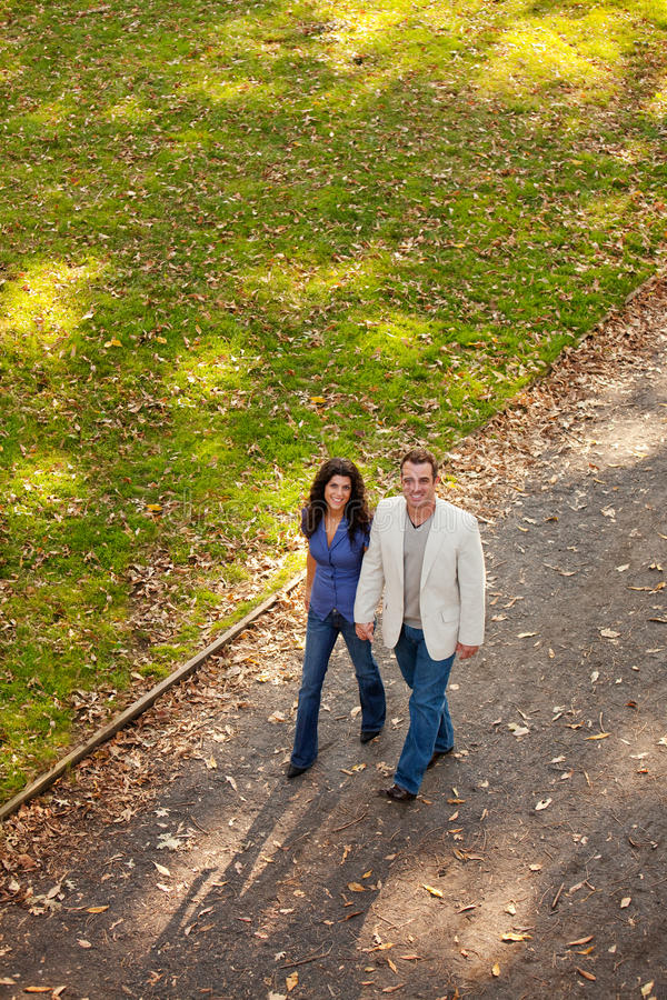 Download Couple Walk stock photo. Image of forest, friend, casual - 11754096