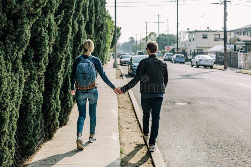 Couple In Walk Free Public Domain Cc0 Image