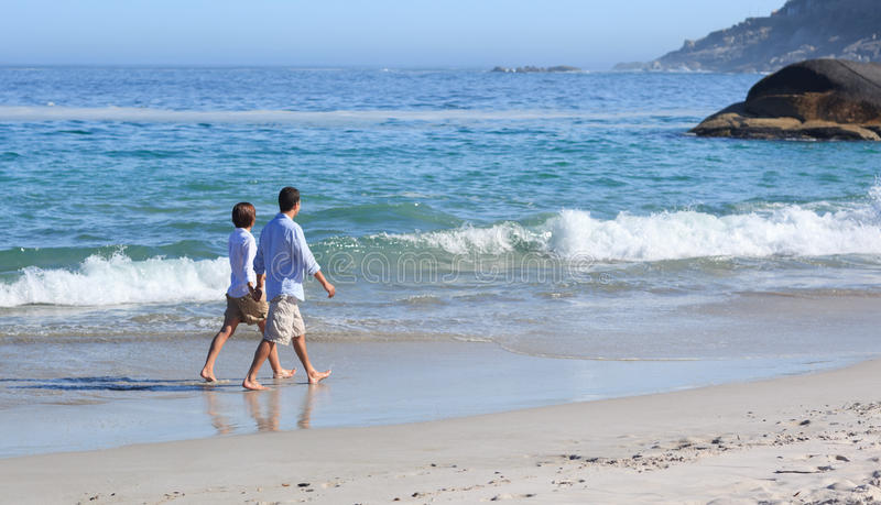Download Couple Walking On The Beach Stock Image - Image: 18701081