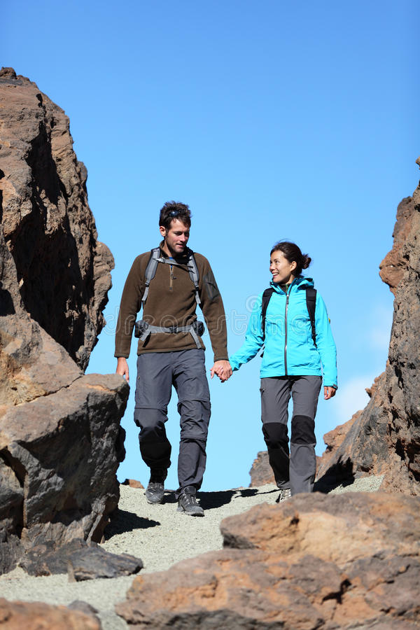 Download Couple walking in nature stock image. Image of length - 20717399