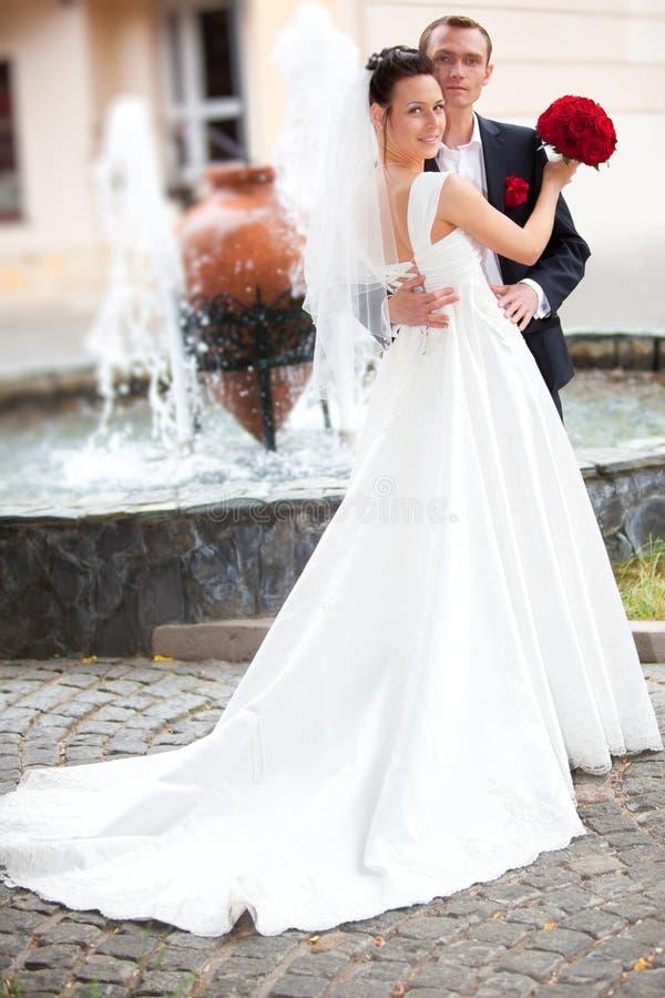 couple wedding young стоковое изображение rf