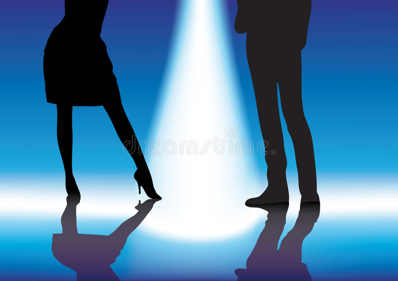 Download Couples stock vector. Image of dancer, male, showing - 16300982